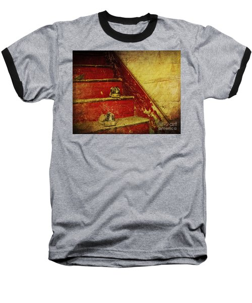 Baseball T-Shirt featuring the photograph Step Back In Time by Debra Fedchin