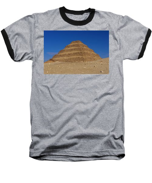 Step Pyramid Of King Djoser At Saqqara  Baseball T-Shirt