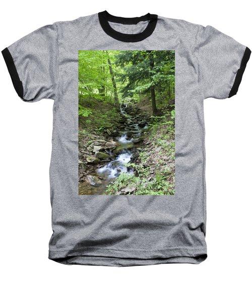 Stepped Water Fall Baseball T-Shirt