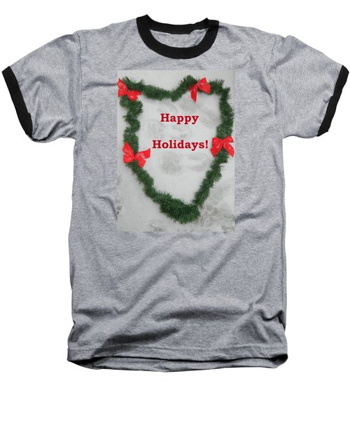 Baseball T-Shirt featuring the photograph Stepping Into The Holidays by Emmy Marie Vickers