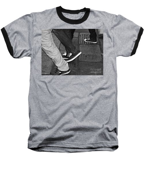 Baseball T-Shirt featuring the photograph Stepping Out by Clare Bevan