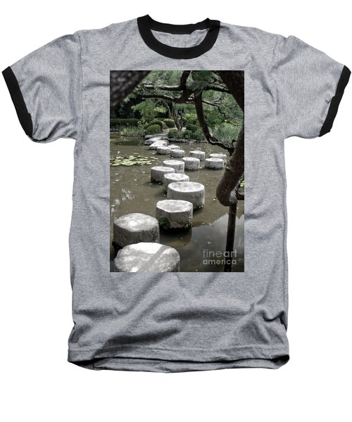 Stepping Stone Kyoto Japan Baseball T-Shirt