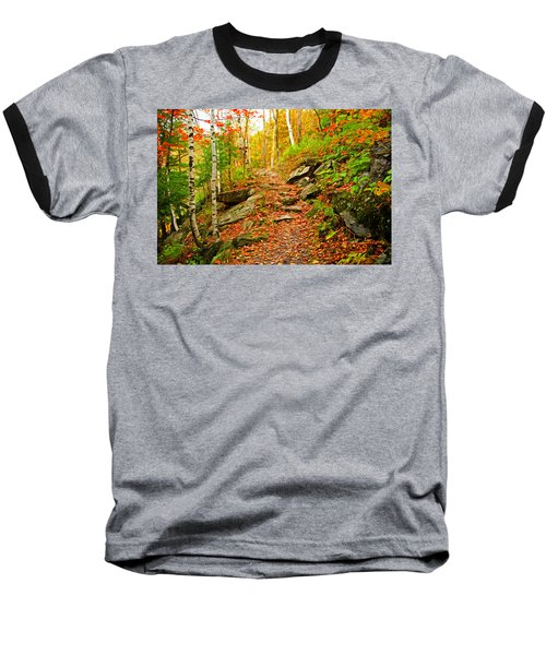 Baseball T-Shirt featuring the photograph Stepping Stones by Bill Howard