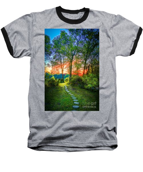 Stepping Stones To The Light Baseball T-Shirt