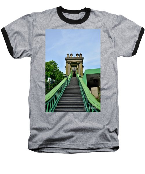 Steps To Muslim Mystic Shrine Singapore Baseball T-Shirt by Imran Ahmed