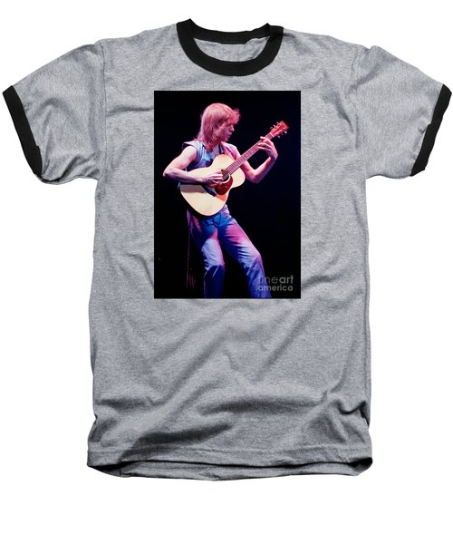 Steve Howe Of Yes Performing The Clap Baseball T-Shirt