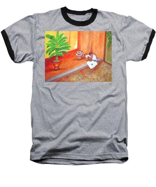 Steve While On Safari In South Africa Baseball T-Shirt