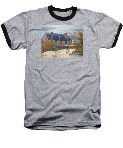 Stevens House Baseball T-Shirt by Barbara Barber