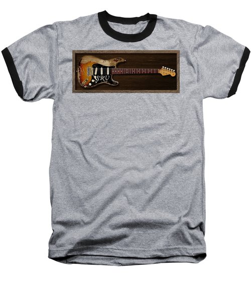 Stevie's Strat Baseball T-Shirt