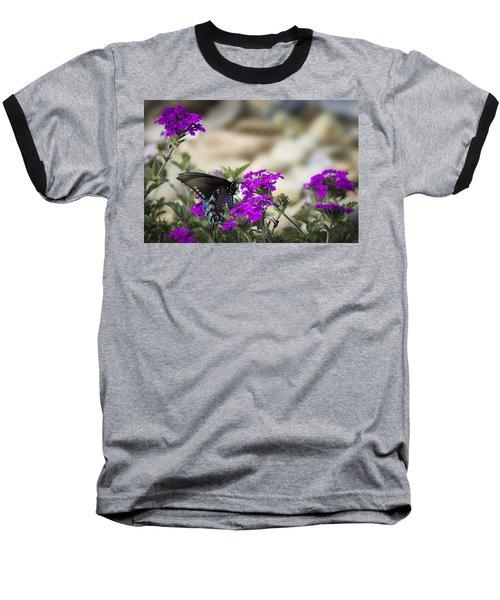 Still Beautiful Swallowtail Baseball T-Shirt