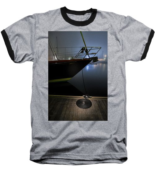 Baseball T-Shirt featuring the photograph Still In The Fog by Marty Saccone