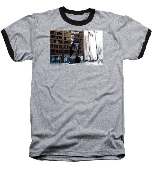 Still Life-162 Tons Baseball T-Shirt by Raymond Perez