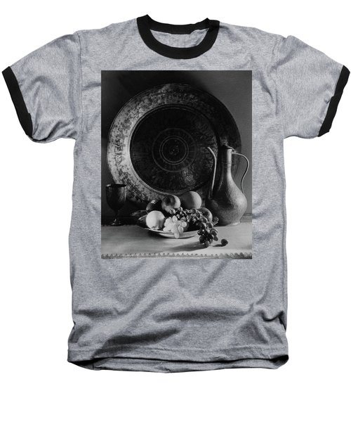 Still Life Of Armenian Plate And Other Baseball T-Shirt