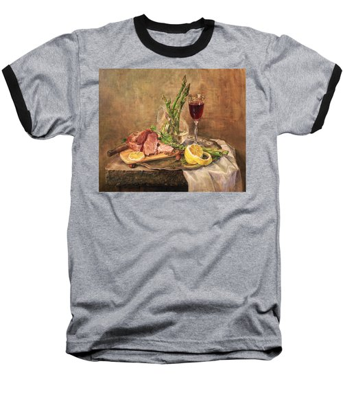 Still Life With Asparagus Baseball T-Shirt