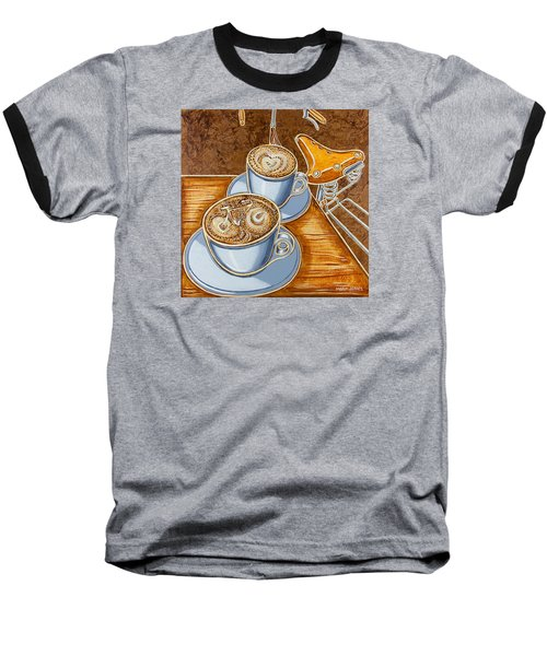 Still Life With Bicycle Baseball T-Shirt by Mark Jones