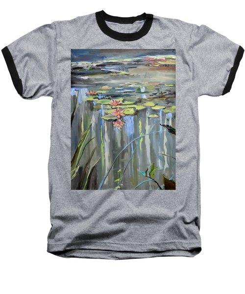 Still Waters Baseball T-Shirt by Donna Tuten