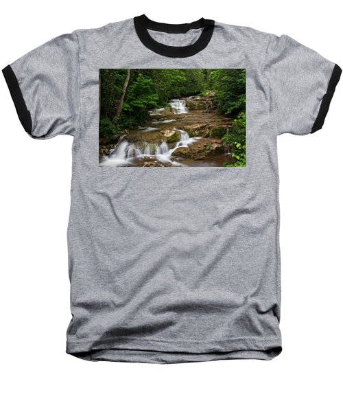 Stockbridge Falls Baseball T-Shirt by Dave Files