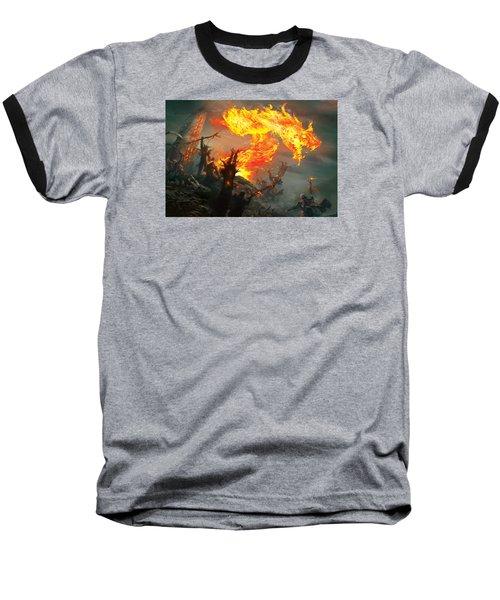 Stoke The Flames Baseball T-Shirt