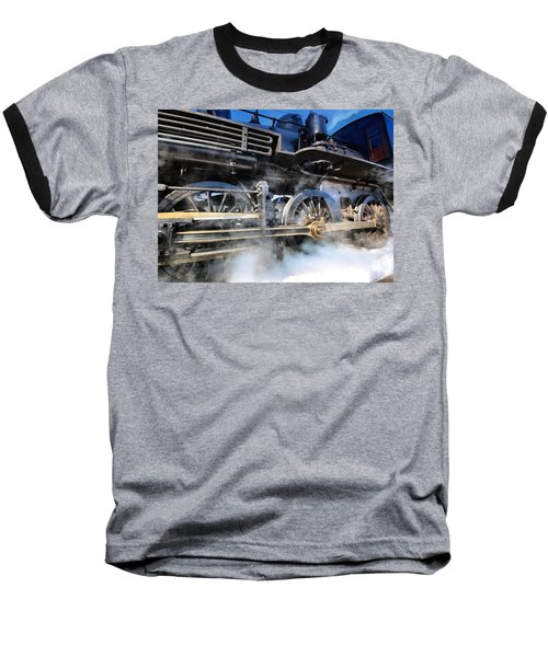 Stokin-tokin Baseball T-Shirt by Robert McCubbin