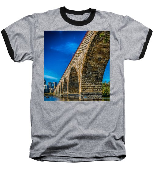 Stone Arch Bridge By Paul Freidlund Baseball T-Shirt