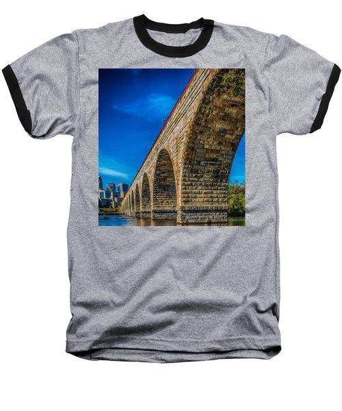 Stone Arch Bridge By Paul Freidlund Baseball T-Shirt