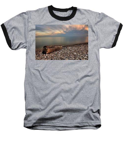 Stone Beach Baseball T-Shirt by James Dean