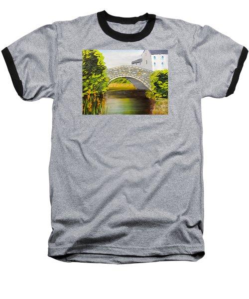 Stone Bridge At Burrowford Uk Baseball T-Shirt