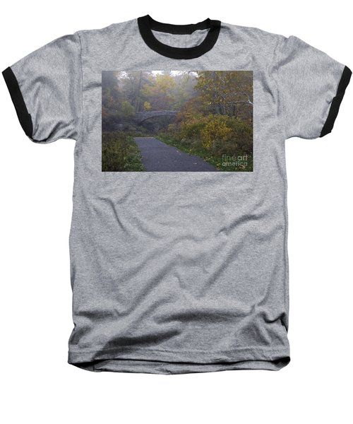 Stone Bridge In Autumn 3 Baseball T-Shirt