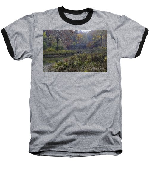Stone Bridge In Autumn I Baseball T-Shirt