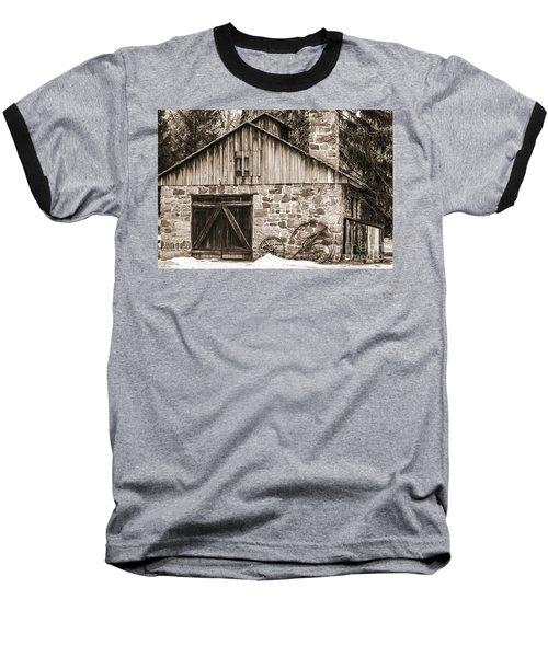 Stone Cabin 2 Baseball T-Shirt