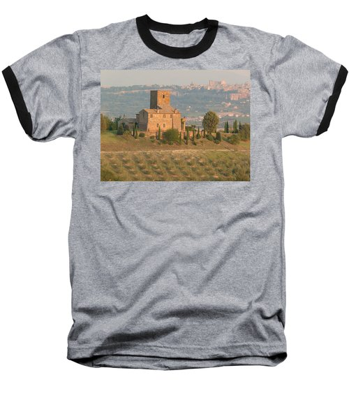 Baseball T-Shirt featuring the photograph Stone Farmhouse by Marcia Socolik