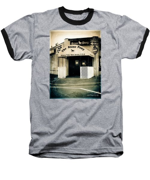 Stone Pony Baseball T-Shirt by Colleen Kammerer