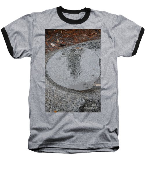 Baseball T-Shirt featuring the photograph Stone Pool Angel by Brian Boyle