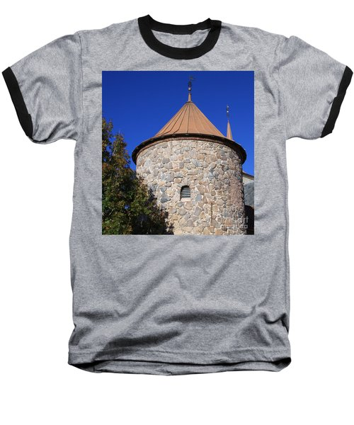 Stone Tower Baseball T-Shirt by Chris Thomas