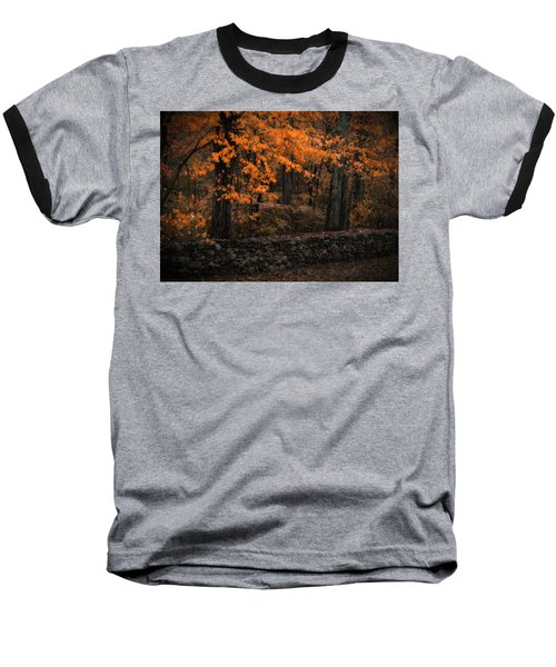 Stonewall In Autumn Baseball T-Shirt