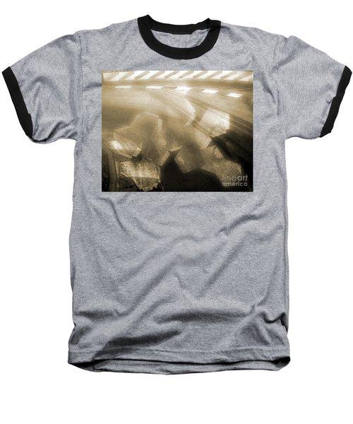 Stood A Man On The Corner. Baseball T-Shirt