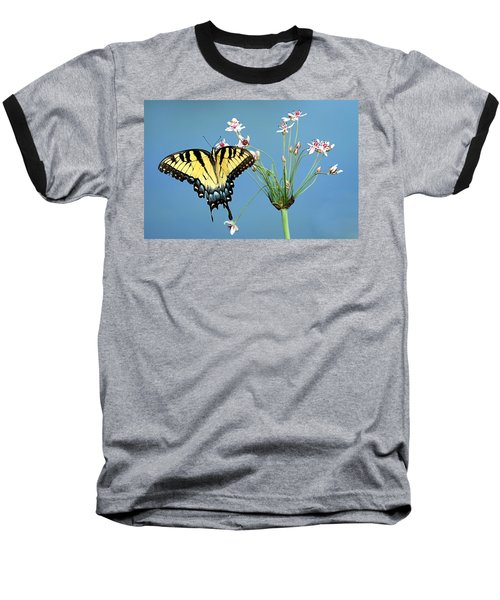 Stop And Smell The Flowers Baseball T-Shirt