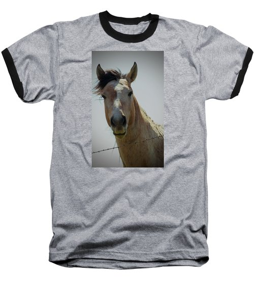 Baseball T-Shirt featuring the photograph Stop Bothering Me by Rima Biswas