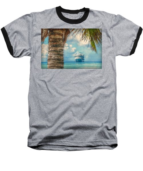 Baseball T-Shirt featuring the photograph Stopover In Paradise by Hanny Heim