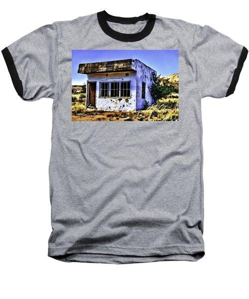 Baseball T-Shirt featuring the painting Store by Muhie Kanawati