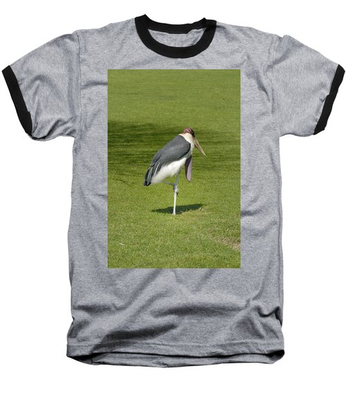 Baseball T-Shirt featuring the photograph Stork by Charles Beeler