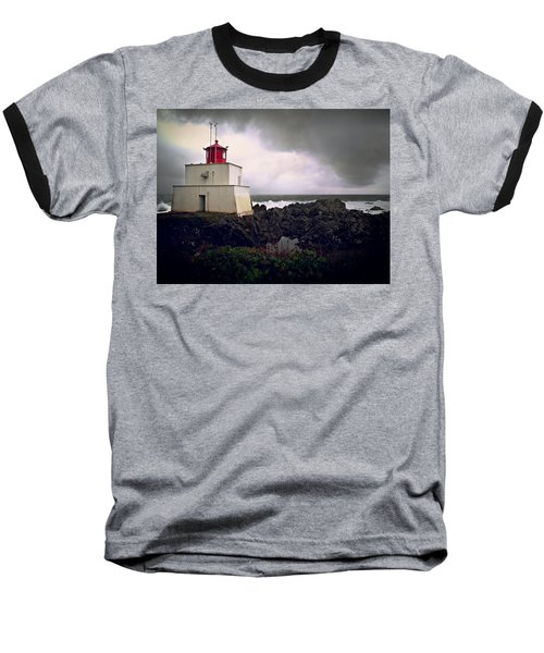 Storm Approaching Baseball T-Shirt