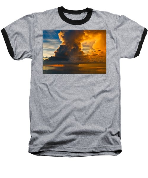 Storm At Sea Baseball T-Shirt