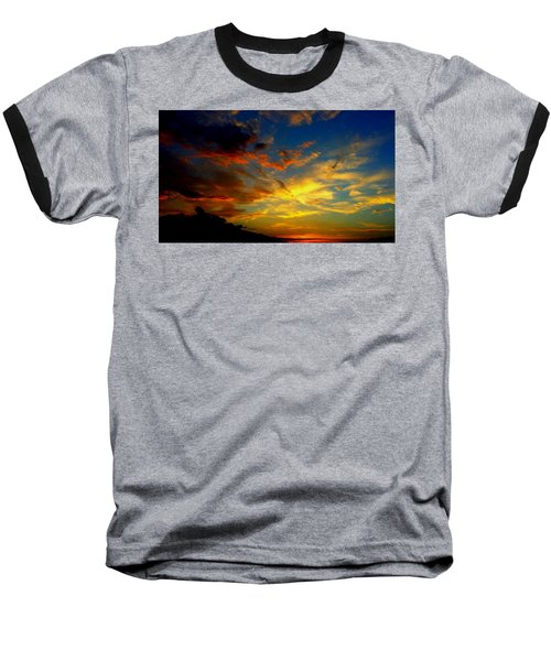 Baseball T-Shirt featuring the photograph Storm Brings Beauty by Chris Tarpening