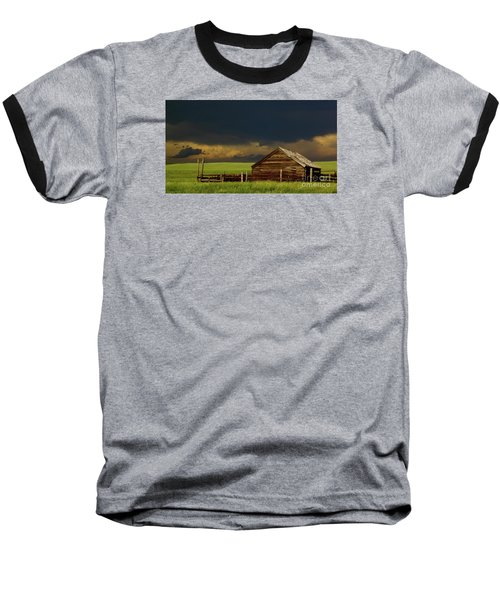 Storm Crossing Prairie 2 Baseball T-Shirt