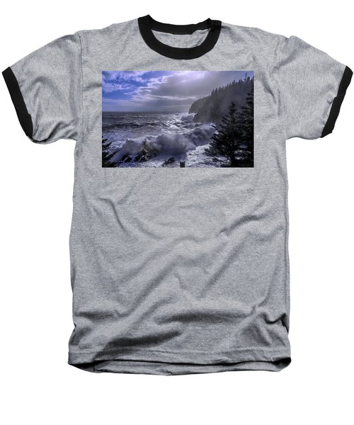 Storm Lifting At Gulliver's Hole Baseball T-Shirt