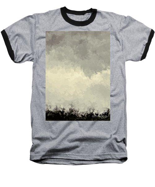 Storm Over A Cornfield Baseball T-Shirt