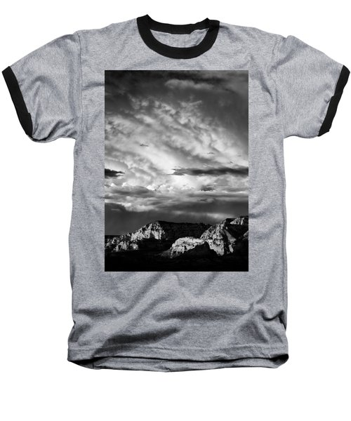Storm Over Sedona Baseball T-Shirt