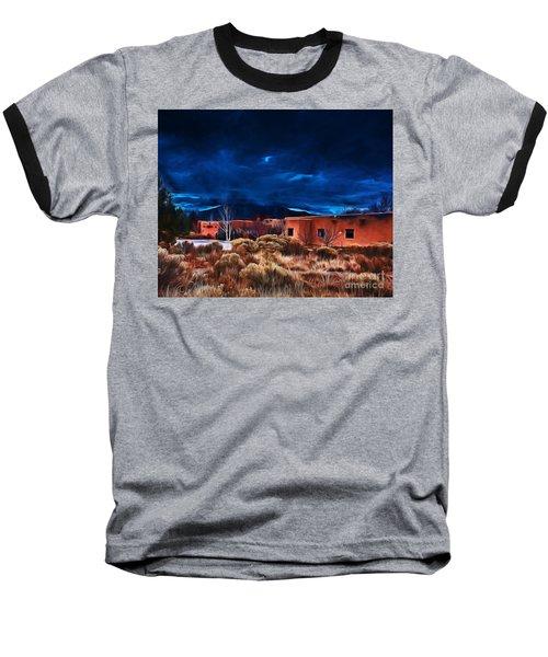 Storm Over Taos Lx - Homage Okeeffe Baseball T-Shirt