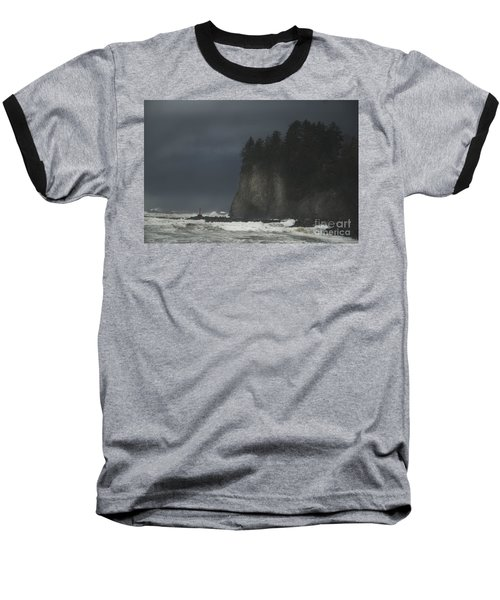 Storm At Lapush Washington State Baseball T-Shirt